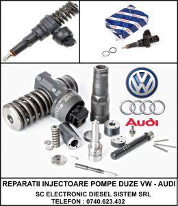Reparatii Injectoare Audi A4 B7 Pompa Duza BPW, BMM, BMP