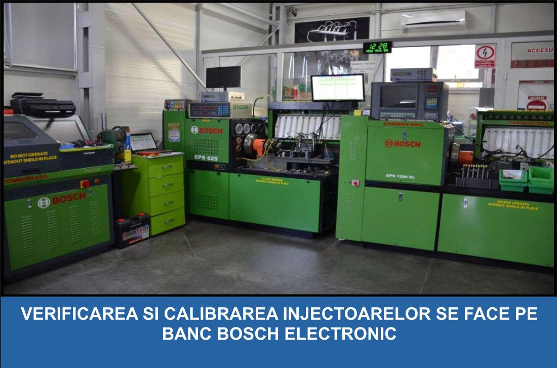 Reparatii injectoare Bosch - Reconditionari injectoare Bosch