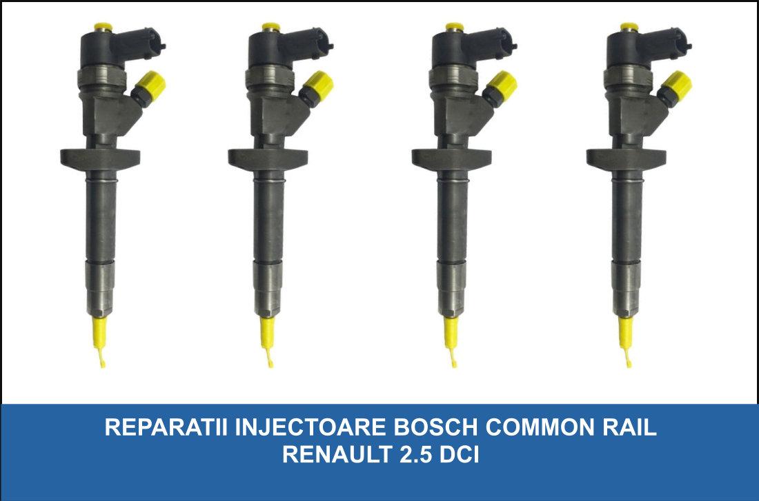 reparatii injectoare bosch renault