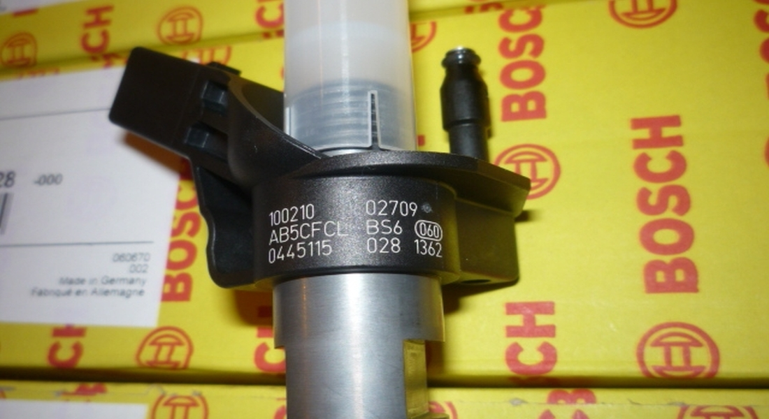 Injector / Injectoare VW Crafter 2.5 TDI, 0445115029, 0445115028