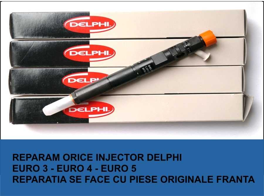 firma de reconditionare injectoare delphi